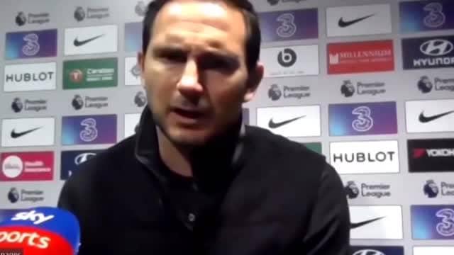 """Lampard: """"Pressione? Una costante in questo lavoro, ma ne ero consapevole"""""""