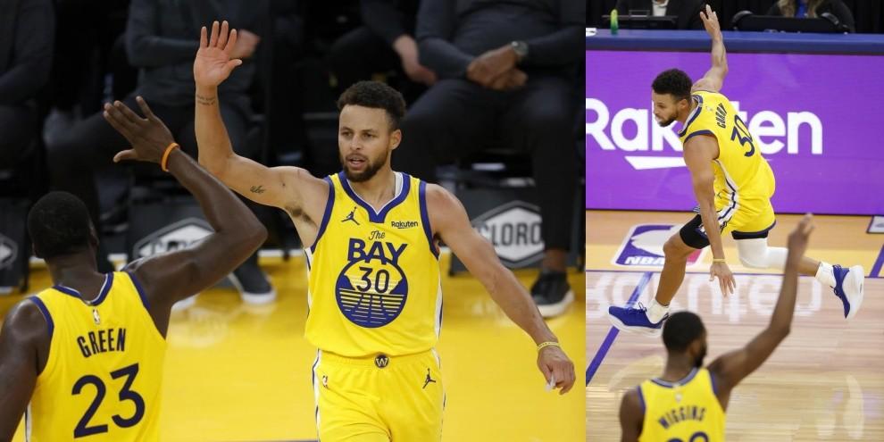 Nba, Curry fenomenale: 62 punti nella sfida tra Golden State e Portland