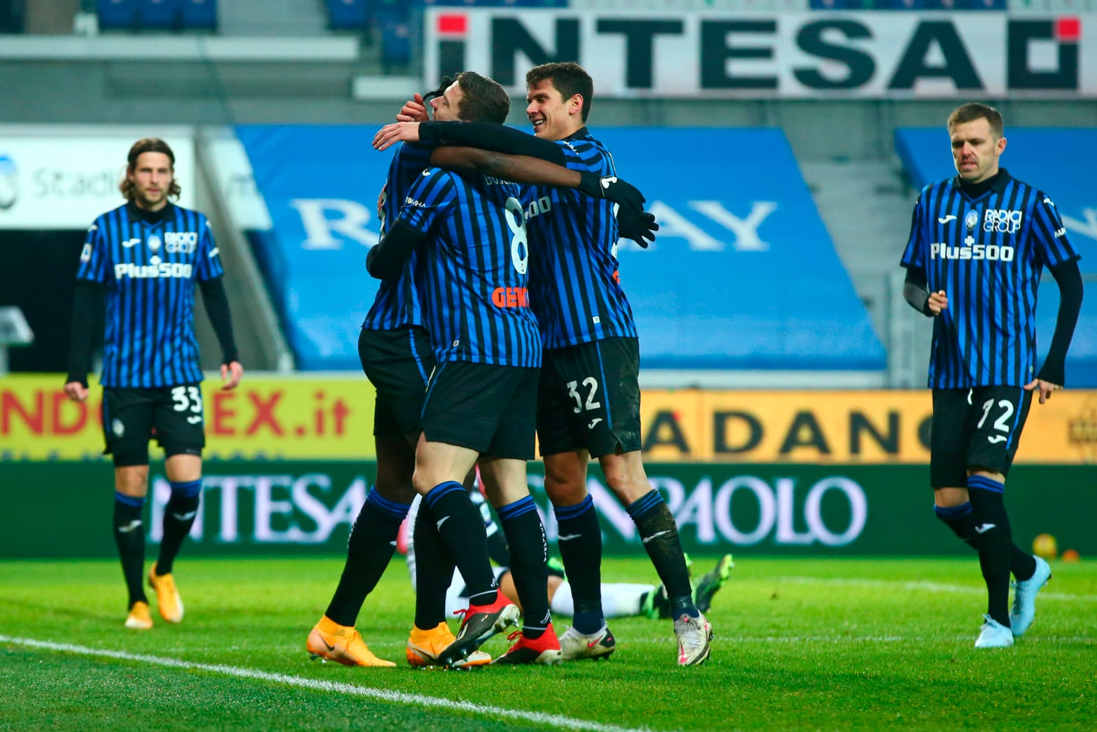 Muriel-Zapata-Gosens, Atalanta inarrestabile: Parma ko 3-0