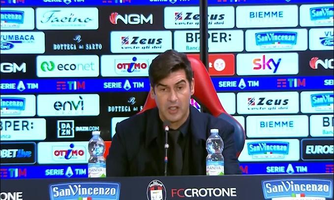 """Fonseca loda la Roma: """"Abbiamo fatto una buona partita"""""""