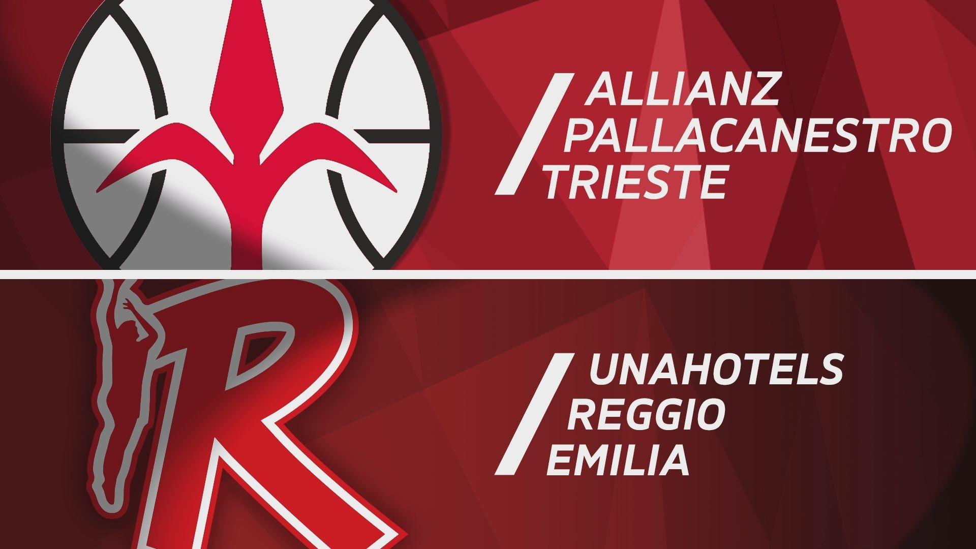 Allianz Pallacanestro Trieste-UNAHOTELS Reggio Emilia 78-67