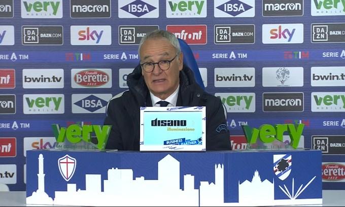 """Ranieri: """"Giocare su un campo così è ridicolo"""""""