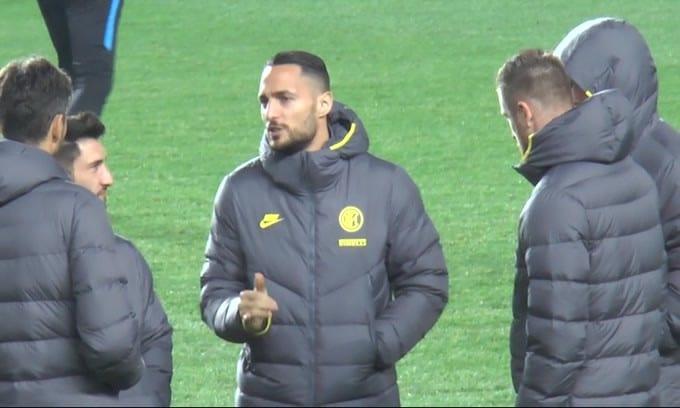 Inter, infortunio al legamento per  D'Ambrosio