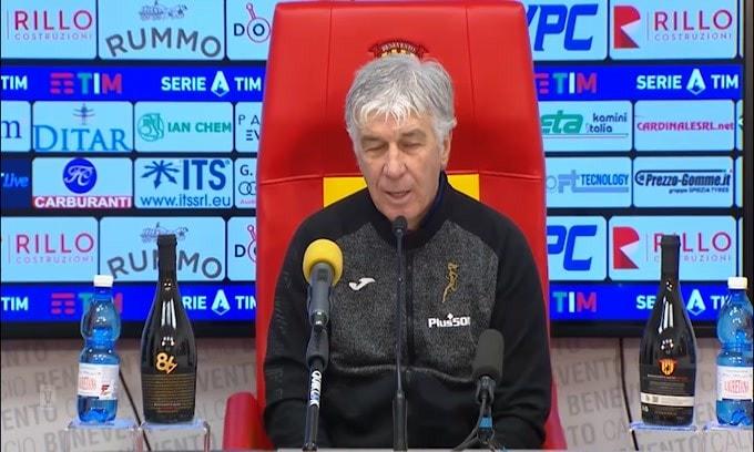 """Gasperini: """"Fatico a trovare dei difetti a questa squadra oggi"""""""