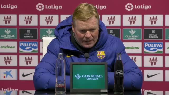 """Koeman: """"Abbiamo bisogno di Messi per vincere trofei"""""""