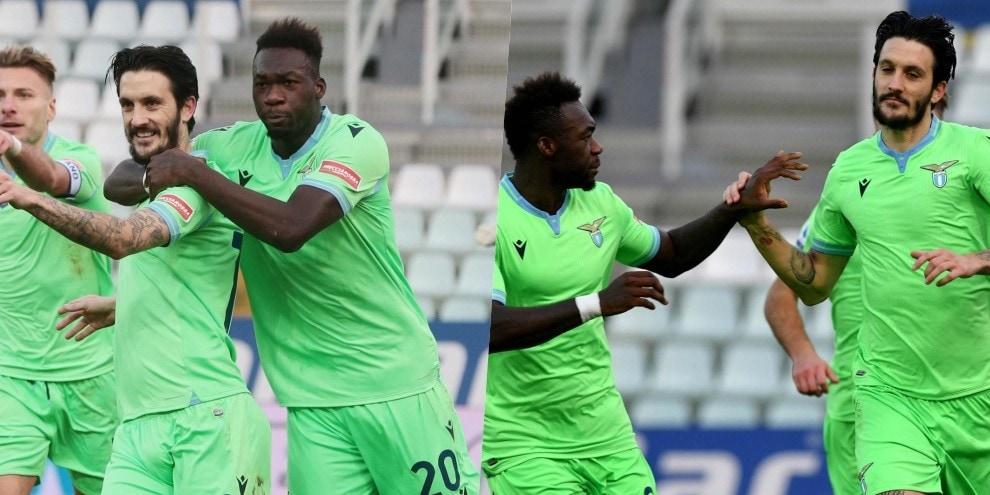 Lazio vincente a Parma: Luis Alberto e Caicedo gol