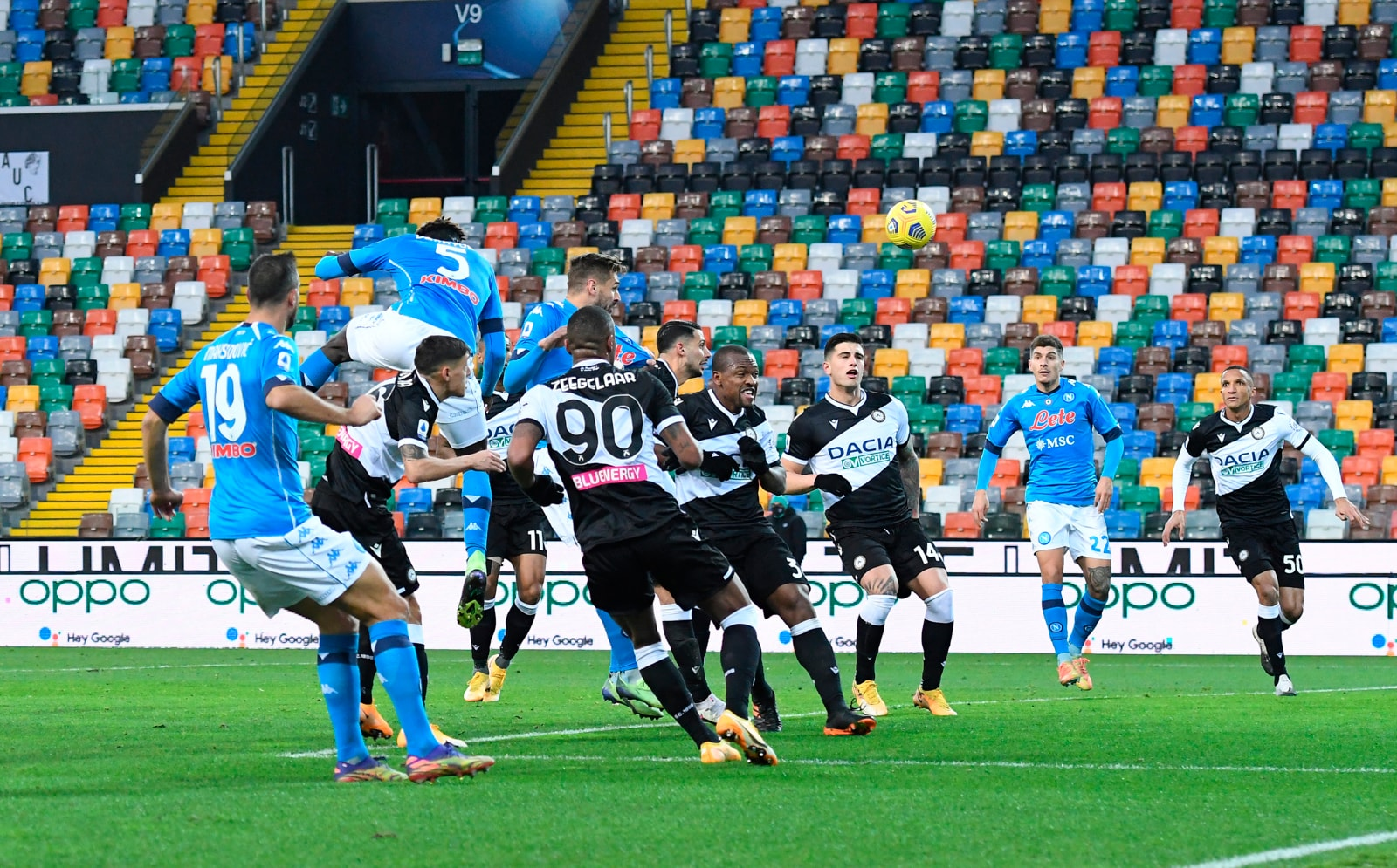 Bakayoko salva Gattuso al 90': il Napoli batte l'Udinese 2-1