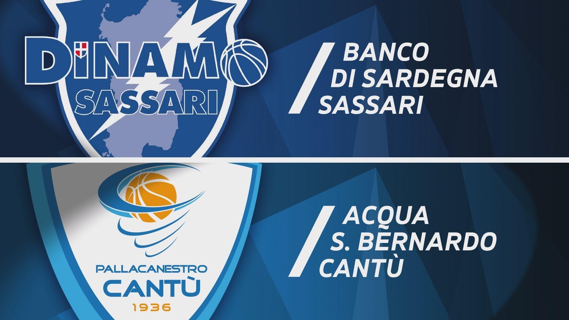 Banco di Sardegna Sassari - Acqua S.Bernardo Cantù 98-92