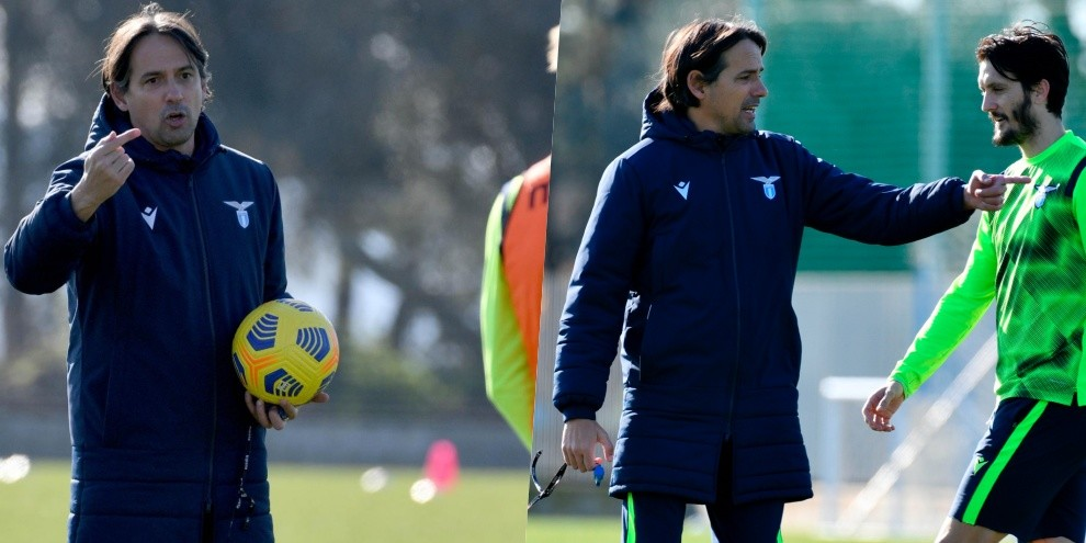 Lazio, la carica di Inzaghi in vista del derby