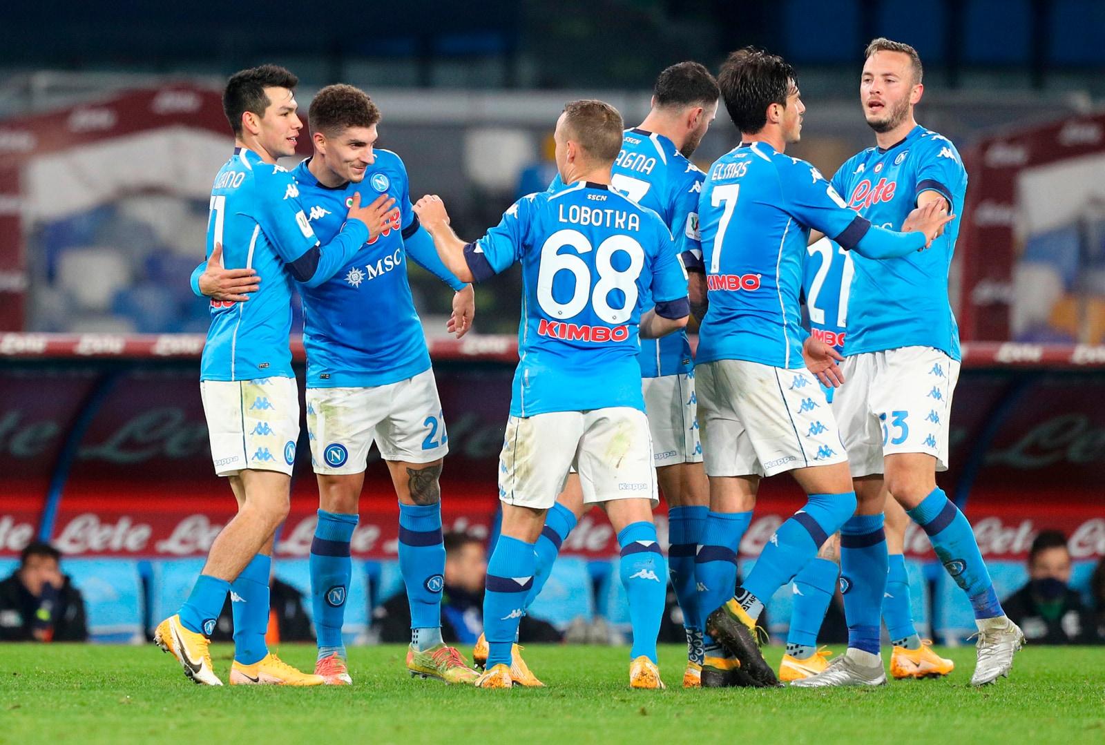 Coppa Italia: Bajrami illude l'Empoli, ma vince il Napoli grazie a Petagna