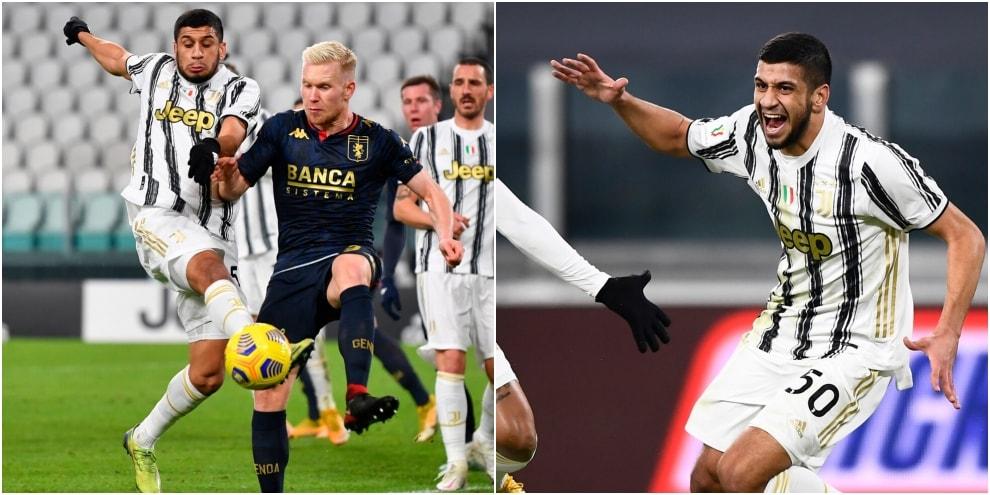 Hamza Rafia, Juventus-Genoa e la gioia con Cristiano Ronaldo