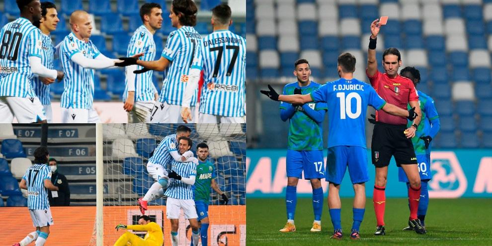 Il Sassuolo di De Zerbi saluta la Coppa Italia. Missiroli e Dickmann trascinano la Spal