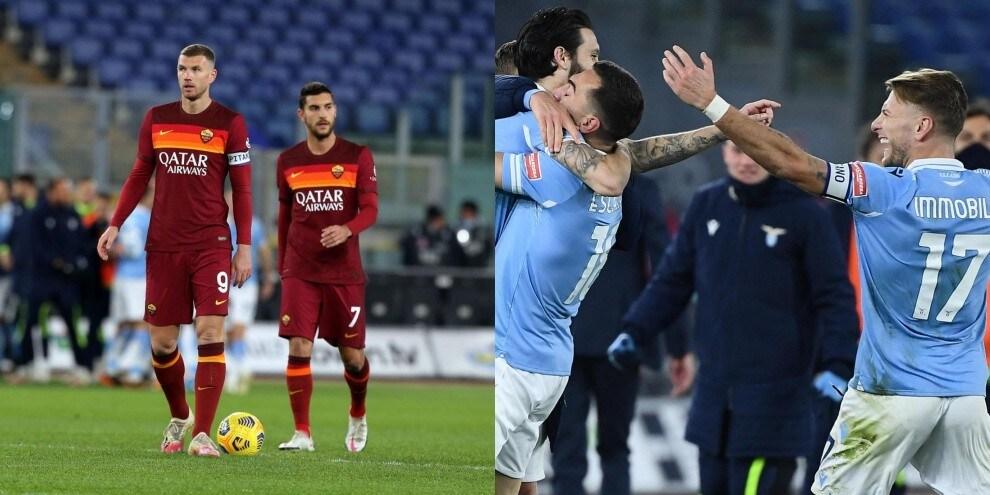 Lazio, che gol Luis Alberto e Immobile: Roma battuta 3-0