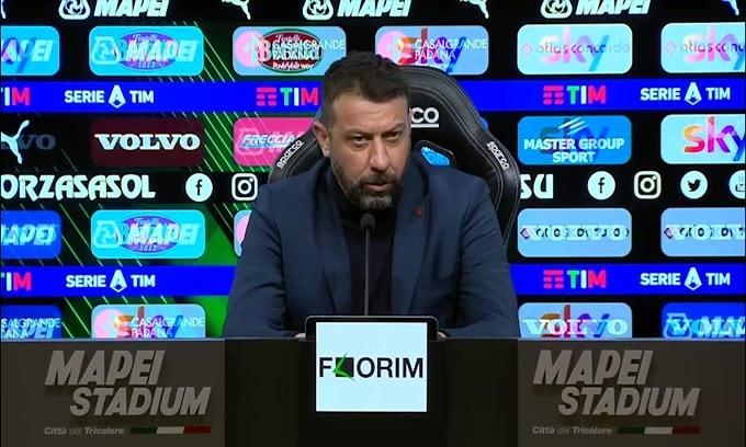 """D'Aversa: """"C'è rammarico per non aver preso i 3 punti"""""""