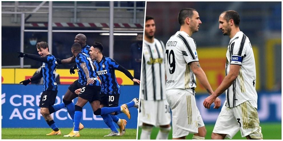 Lo schiaffo dell'Inter alla Juve: Vidal e Barella fanno sognare Conte