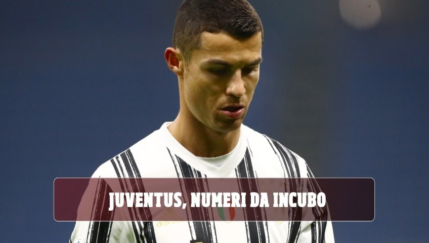 Juventus, numeri da incubo