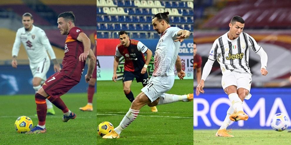 Serie A 2020/2021, rigori a favore: la classifica