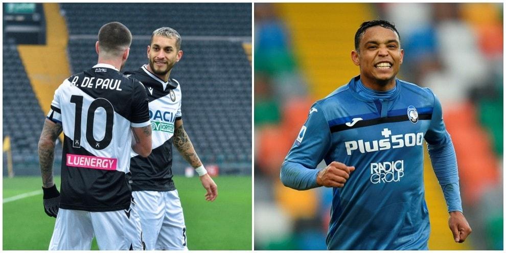 """Pereyra gol dopo 24"""", l'Atalanta pareggia ma non sfonda il muro Udinese"""