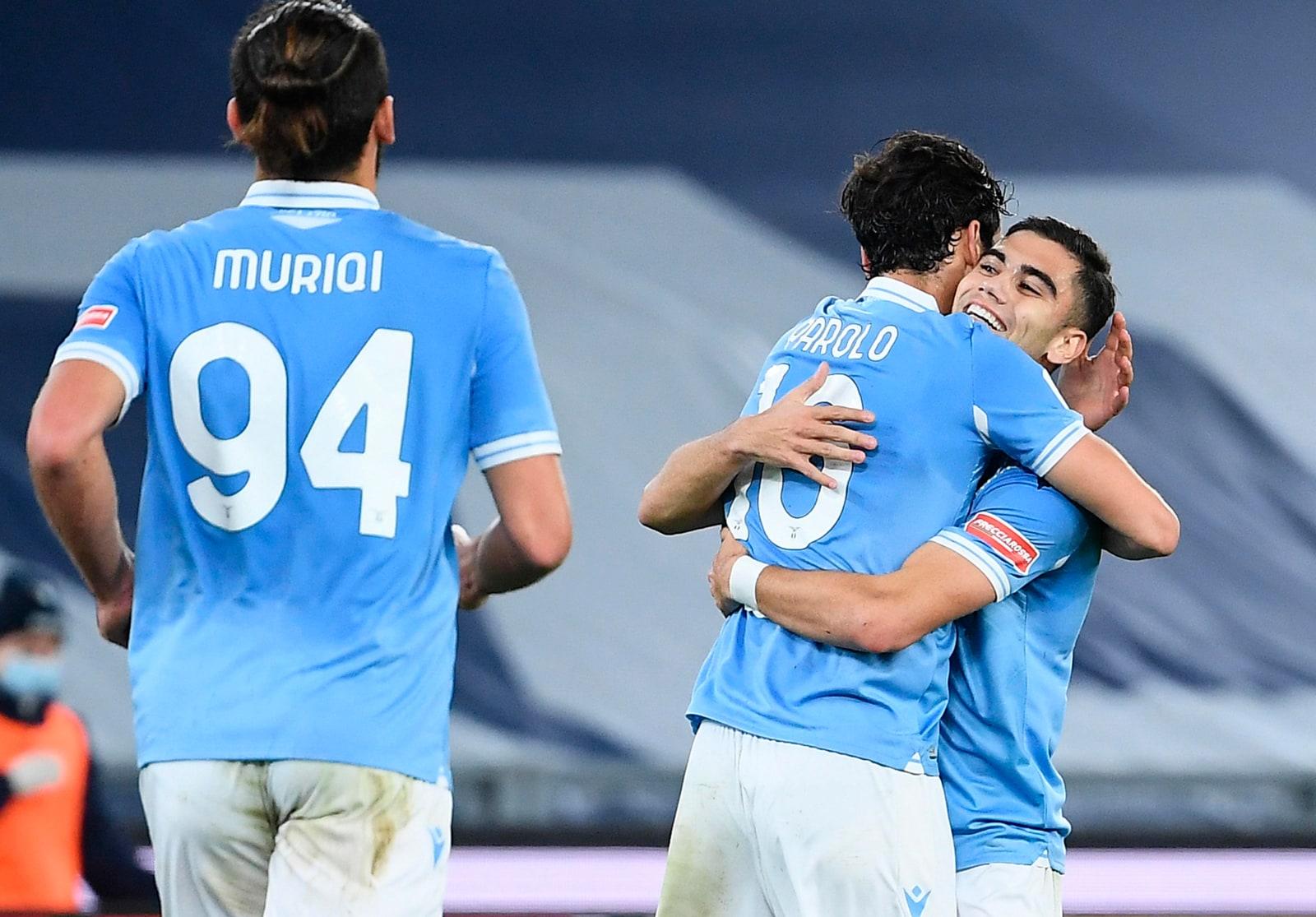 Gol dell'ex di Parolo e un'autorete: la Lazio sfiderà l'Atalanta nei quarti di Coppa Italia
