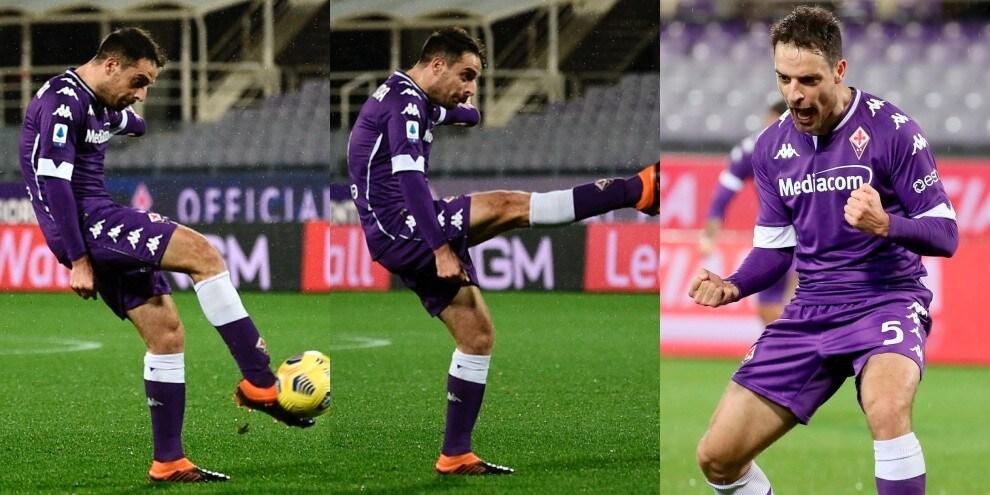 Fiorentina, che gol di Bonaventura! Crotone ko
