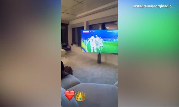 Ronaldo segna e il figlio reagisce così