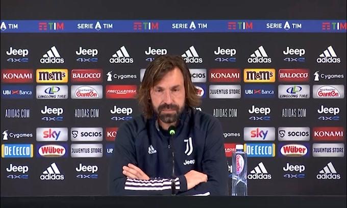 """Pirlo annuncia: """"Dybala e Ramsey out"""""""
