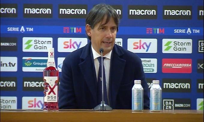 """Simone Inzaghi: """"Luis Alberto arrabbiato per il cambio? No, solo..."""""""