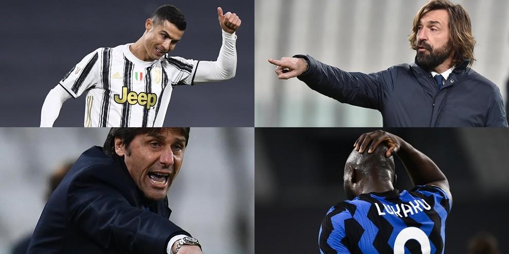 Conte è una furia, Pirlo esulta: la Juve conquista la 7ª finale in 10 anni