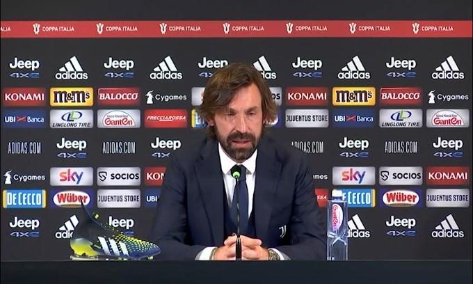 """Pirlo: """"Questa è la Juve che avevo in mente"""""""