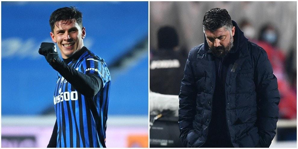 Zapata e Pessina scatenati: Napoli ko, Atalanta in finale di Coppa Italia