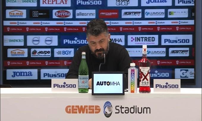 """Gattuso: """"Juve ultima spiaggia? Domandate alla società"""""""
