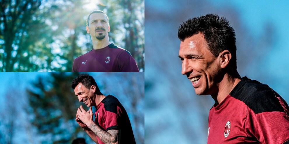 Milan, Mandzukic che sorrisi! Ibrahimovic punta lo Spezia