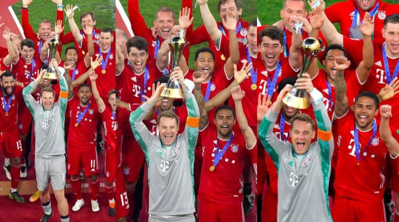 Bayern sul tetto del mondo: Douglas Costa partecipa alla festa