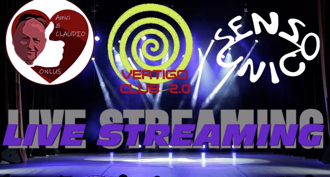 Sensounico in live streaming