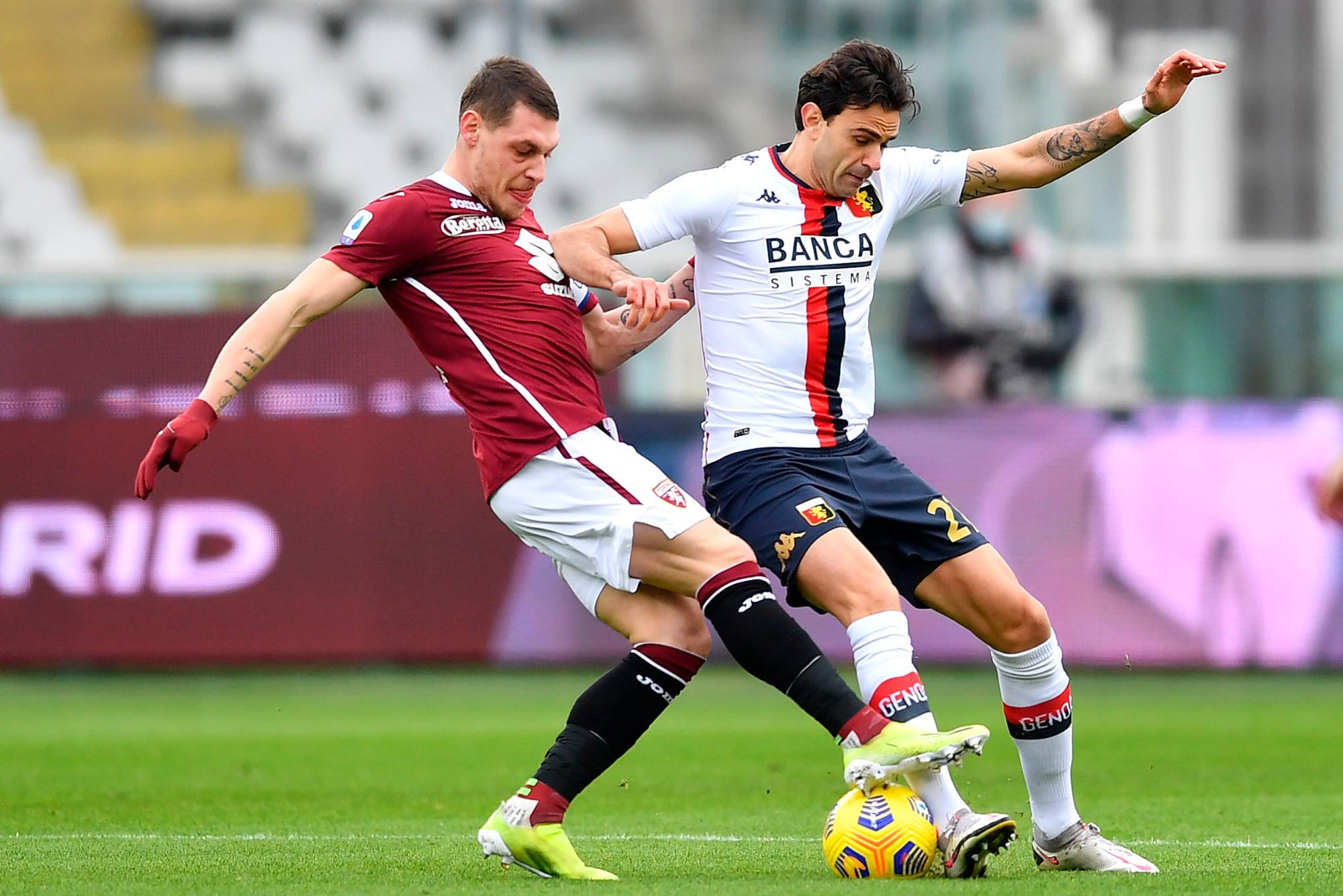 Torino, altro pari per Nicola: 0-0 con il Genoa