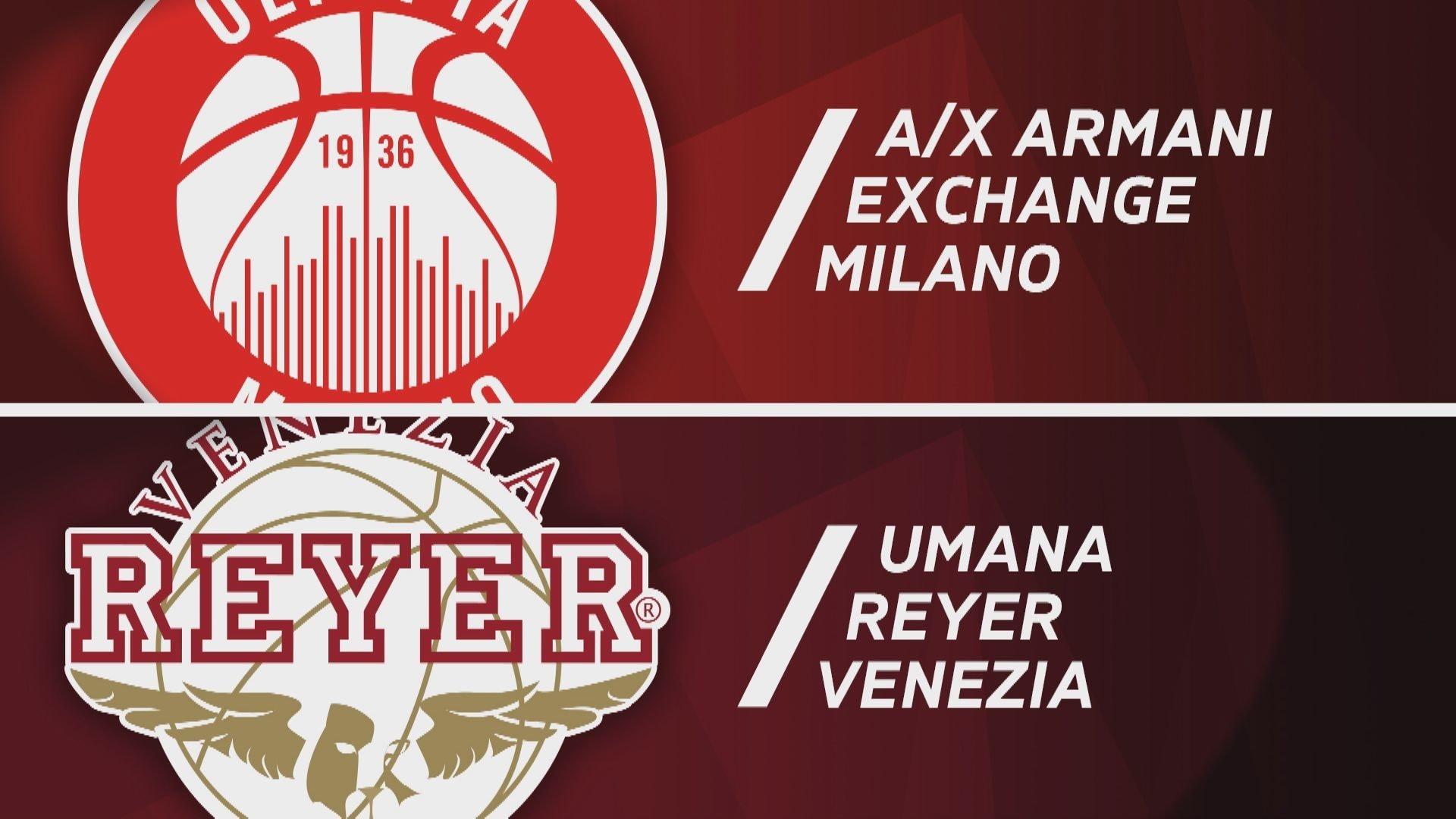 Final Eight: A|X Armani Exchange Milano - Umana Venezia 96-65