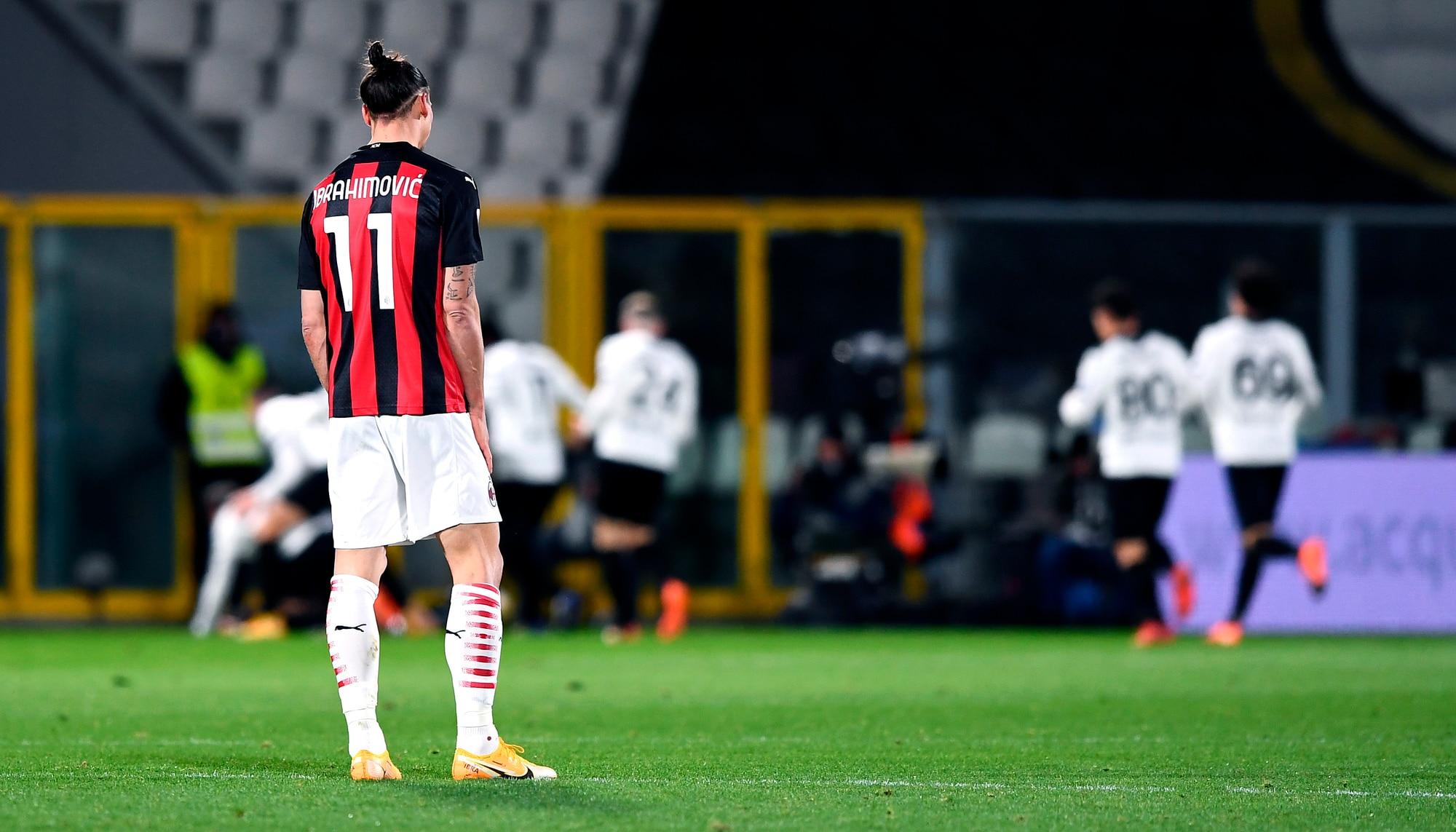 Uno Spezia da favola annienta la capolista: Milan ko 2-0