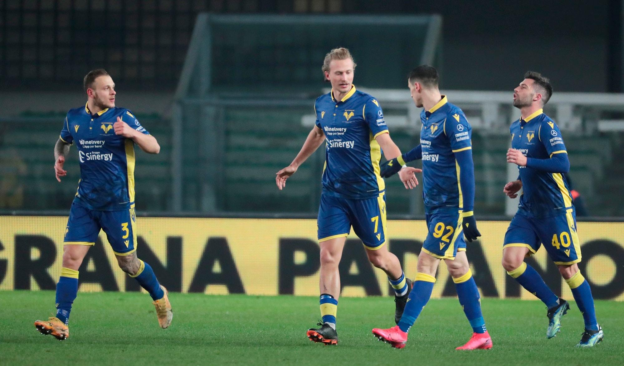 Barak, gol storico per la vittoria del Verona sul Parma