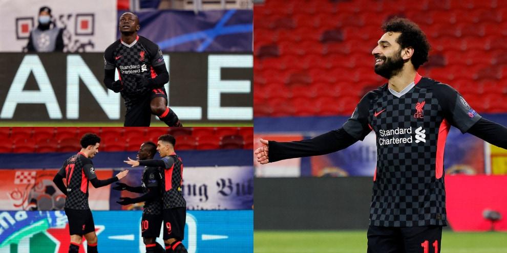 Salah e Mané trascinano il Liverpool. Lipsia battuto 2-0