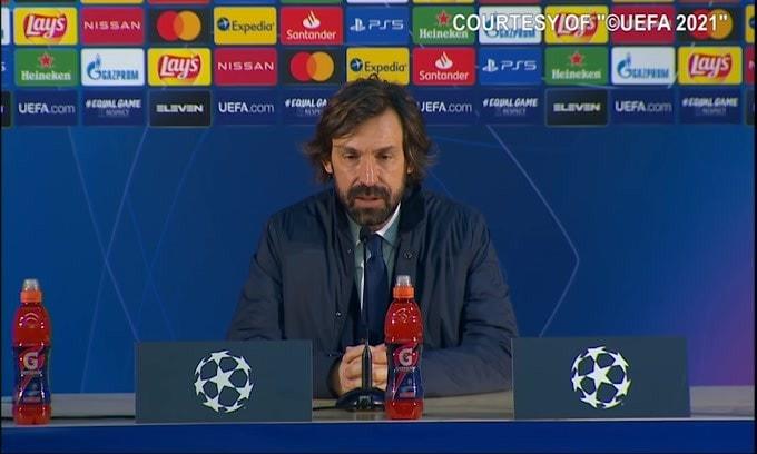 """Pirlo: """"Morata non si è sentito bene a fine gara. Dybala.."""""""