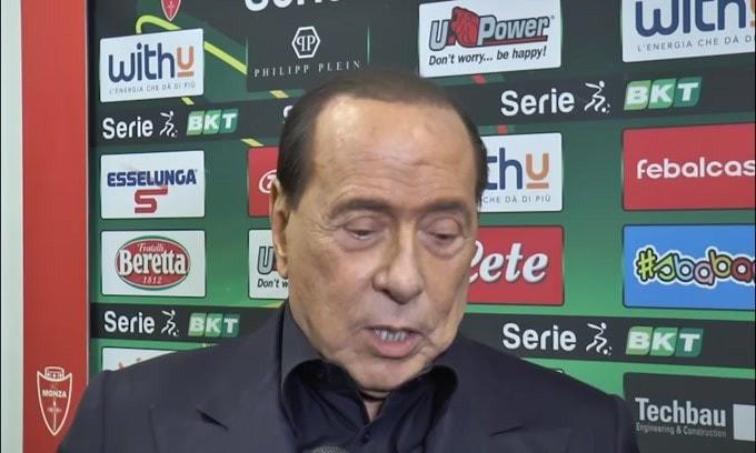 """Berlusconi: """"Ibra a Sanremo? Si vorrà riposare.Donnarumma? Deve rinnovare"""""""