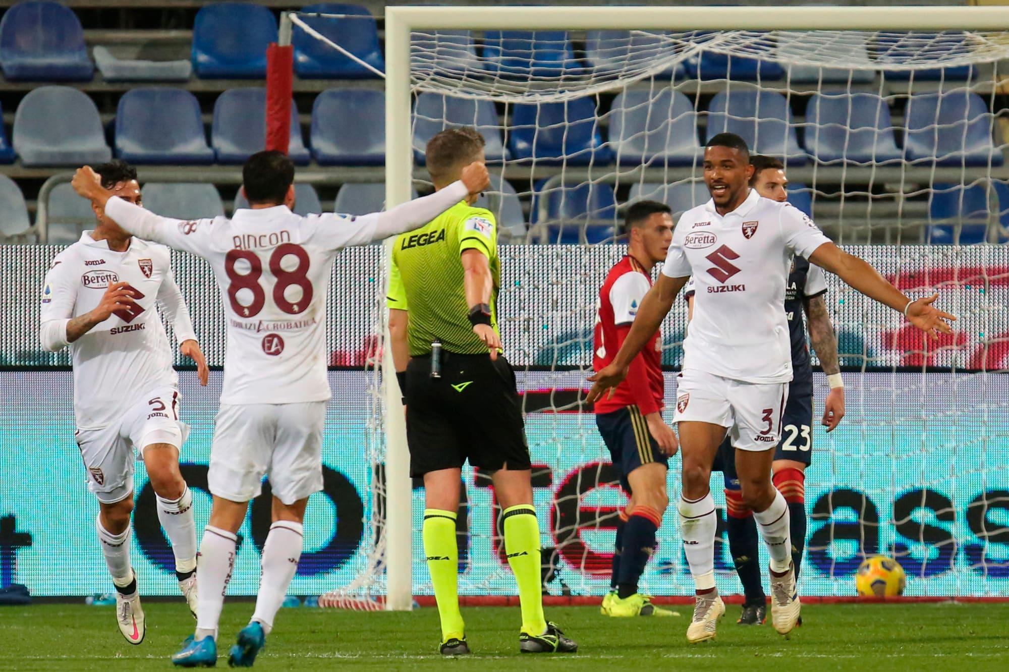 Bremer, urlo Torino! Nicola manda il Cagliari ko
