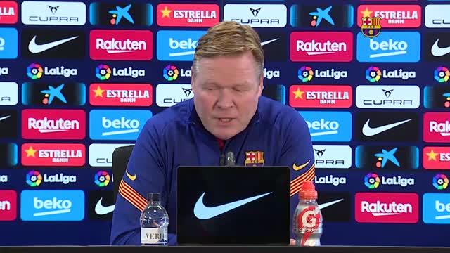 """Koeman: """"Non vinciamo con le big? Ma se abbiamo battuto la Juve..."""""""