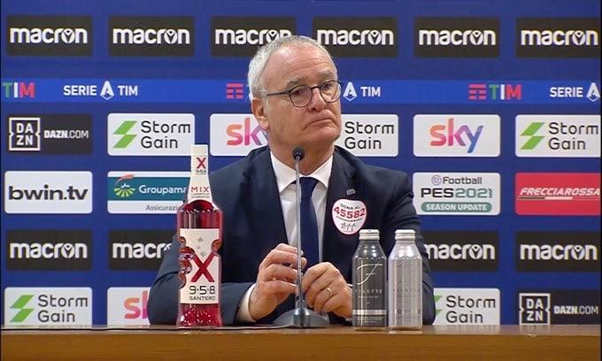 """Ranieri: """"Obiettivo Europa? Sarebbe prendere in giro i tifosi"""""""