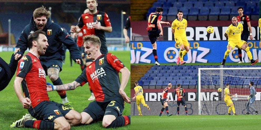 Verona, il gioiello di Ilic non basta: Badelj salva il Genoa al 94'