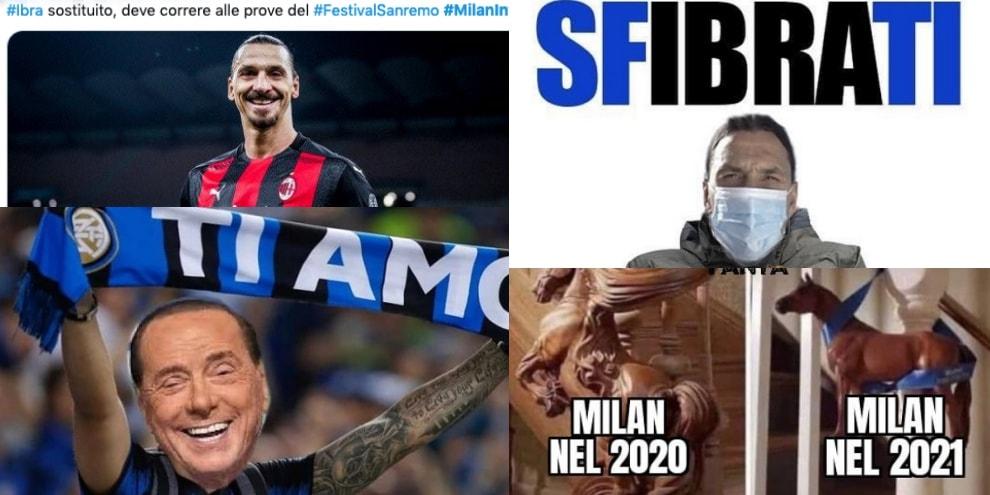 L'Inter vince il Derby: sui social si scatenano le ironie