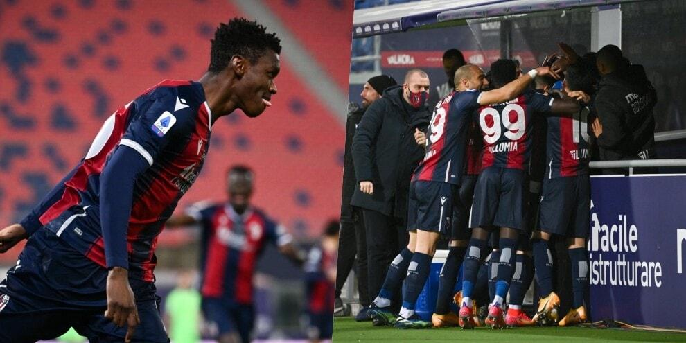 Super Bologna contro la Lazio: Mbaye e Sansone protagonisti
