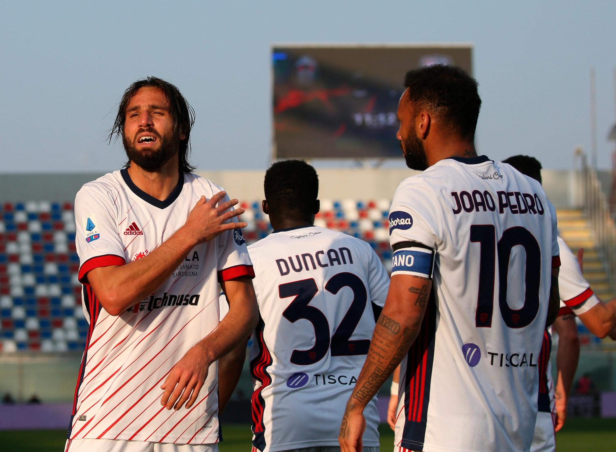 Il Cagliari riparte con Semplici: Pavoletti-Joao Pedro e Crotone ko
