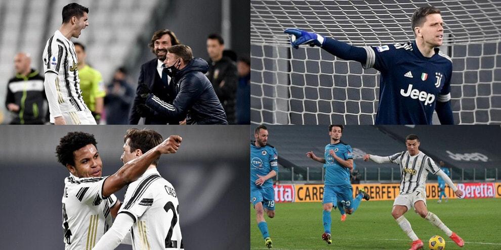 """La Juve batte lo Spezia, sui social un solo grido: """"Fino alla fine"""""""