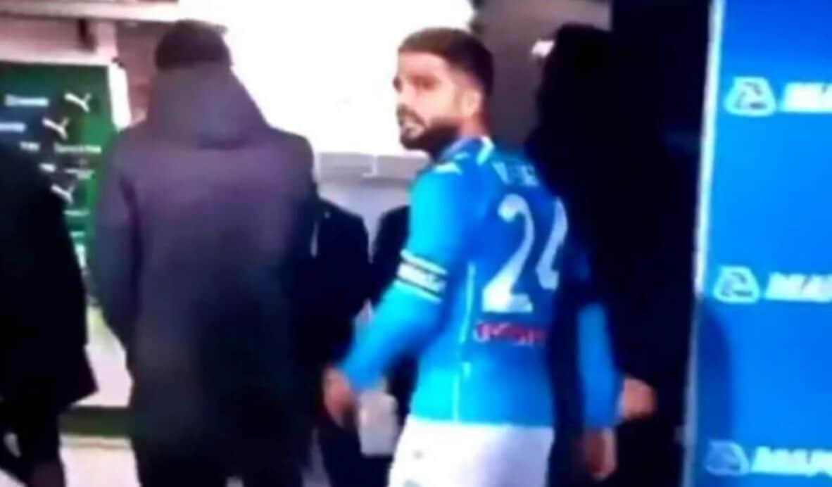 """Insigne arrabbiato, 3-3 Sassuolo-Napoli, il VIDEO: """"Squadra di m..."""""""